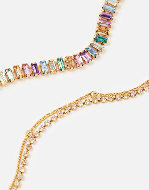 Ombre Baguette Bracelet Set , , large