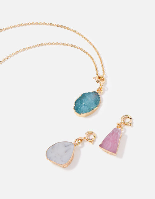 Country Retreat Interchangeable Stone Necklace, , large