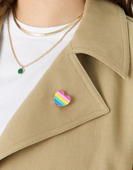 Vaccinated Pin Badge, , large