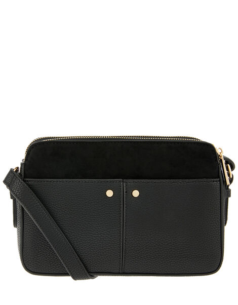 Charlotte Cross-Body Bag Black, Black (BLACK), large