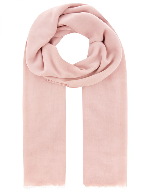 Sorrento Lightweight Scarf, Pink (PALE PINK), large