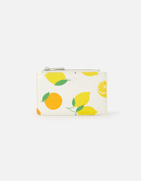 Lemon Print Cardholder , , large
