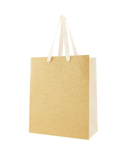 Glitter Medium Gift Bag, , large