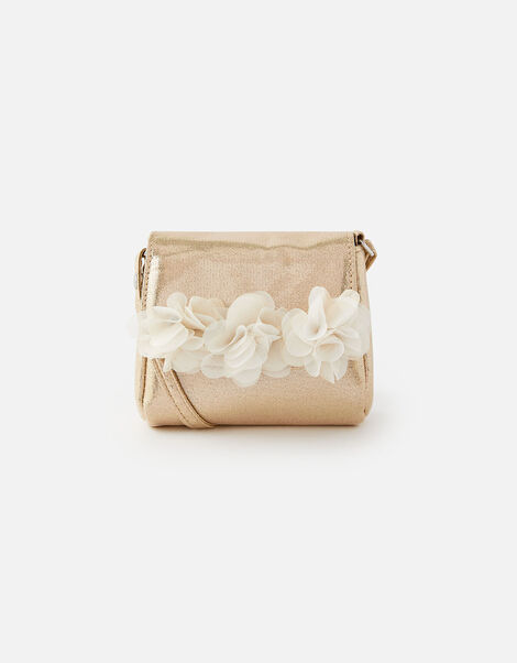 Corsage Foldover Cross-Body Bag , , large