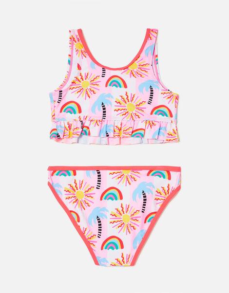 Summer Palm Tree Bikini Set Multi, Multi (BRIGHTS-MULTI), large