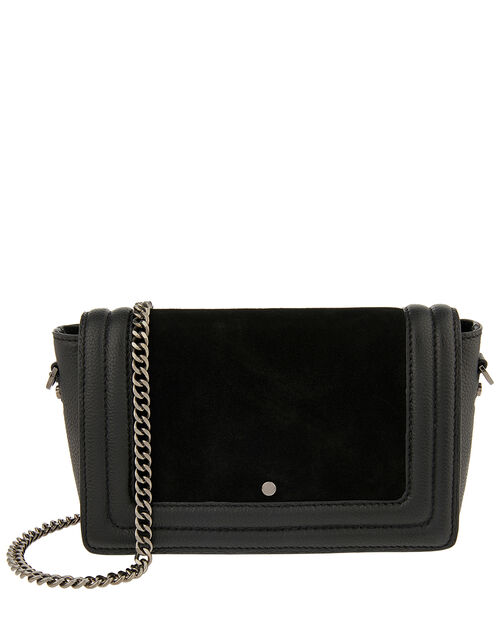 Tasha Leather Cross-Body Bag, , large