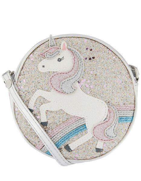 Unicorn Glitter Cross-Body Bag, , large