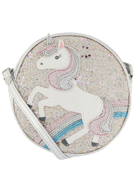 Unicorn Glitter Cross-Body Bag, , large