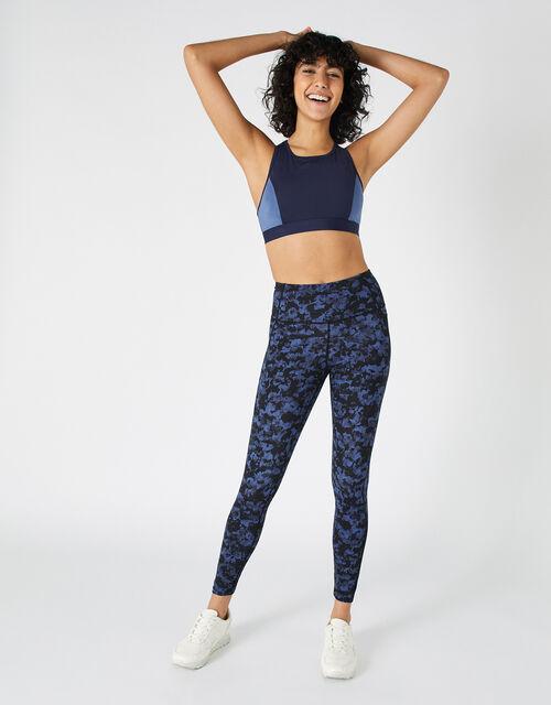 Full-Length Printed Gym Legging, Multi (BRIGHTS-MULTI), large