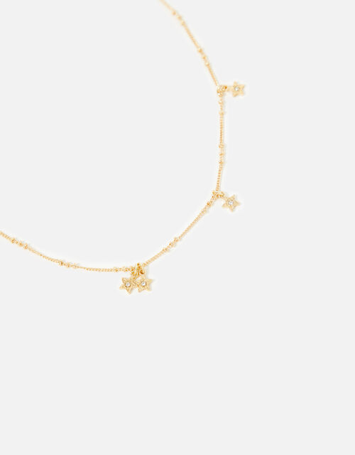 Carded Gifting Starry Crystal Necklace, , large