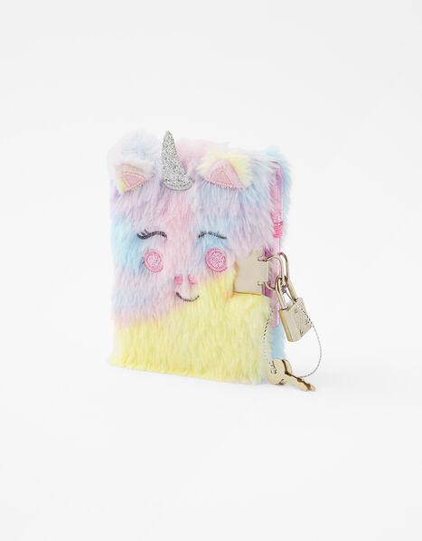 Mini Fluffy Unicorn Notebook, , large