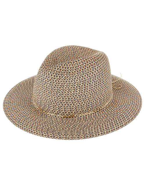 Colour-Mix Fedora with Beads, Multi (BRIGHTS-MULTI), large