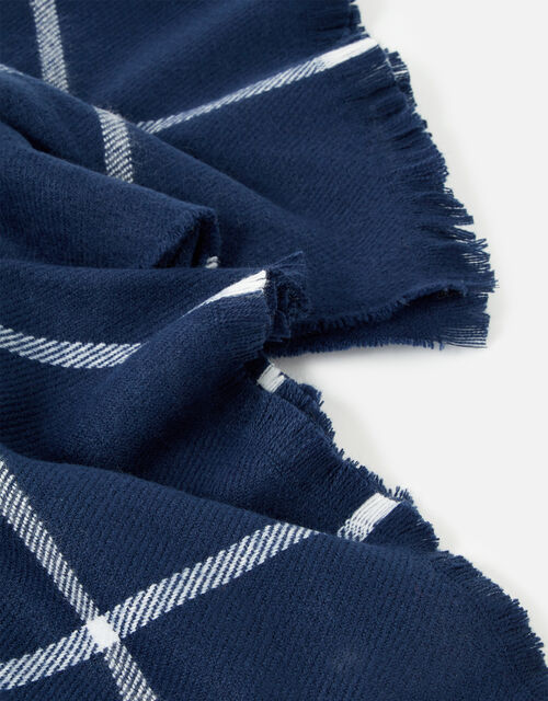 Carter Check Scarf, , large