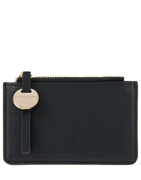 Shoreditch Card Holder with Charm Black, Black (BLACK), large