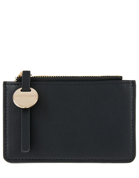 Shoreditch Card Holder with Charm Black, Black (BLACK), large