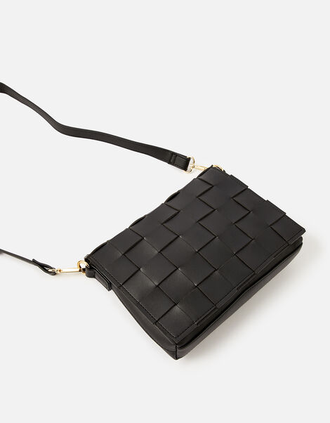Hayley Weave Cross-Body Bag , , large