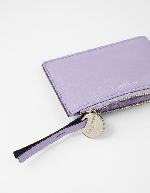 Cora Card Holder , Purple (LILAC), large