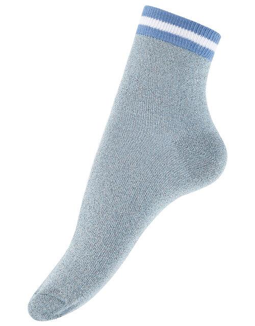 Sparkle Sporty Cropped Socks, , large