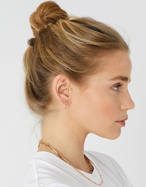 Stud and Hoop Earring Multipack , , large