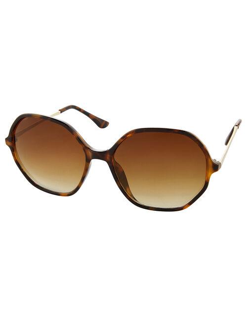 Helena Hexagon Sunglasses, , large
