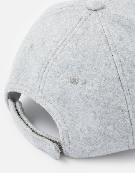 Super-Soft Marl Baseball Cap Grey, Grey (LIGHT GREY), large