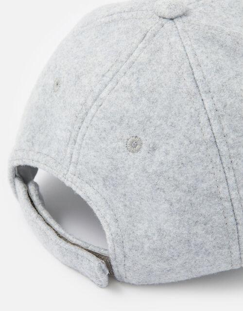 Super-Soft Marl Baseball Cap, Grey (LIGHT GREY), large