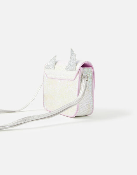 Unicorn Sequin Cross-Body Bag, , large
