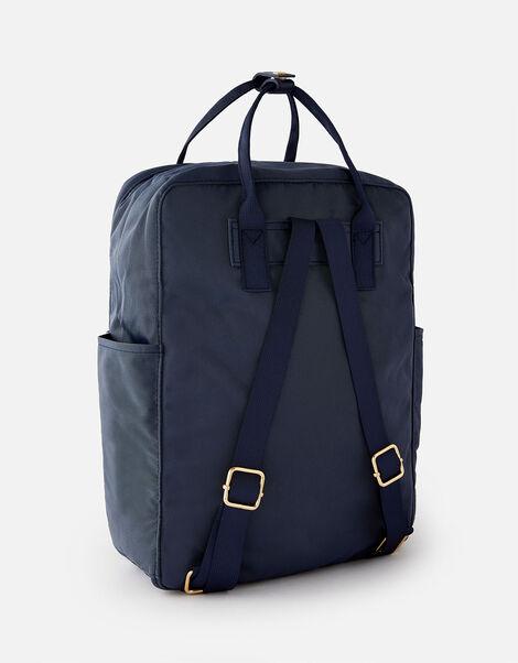 Frida Canvas Backpack  Blue, Blue (NAVY), large