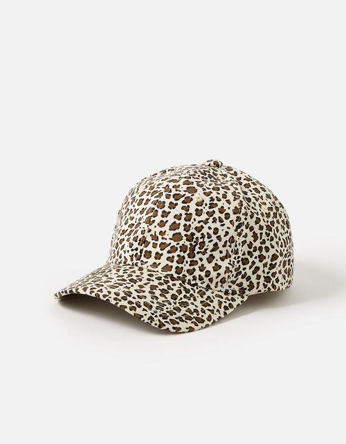 Leopard Print Baseball Cap , , large