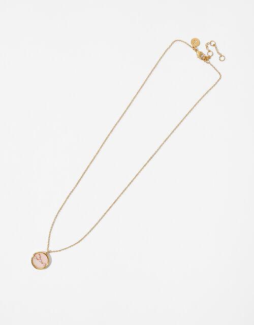Rose Quartz Constellation Necklace - Taurus, , large