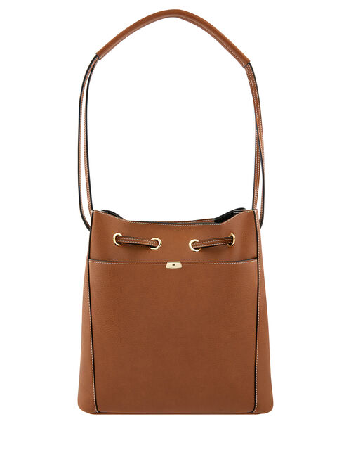 Nerissa Vegan Handbag, Tan (TAN), large