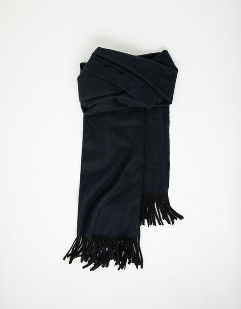 Holly Super-Soft Blanket Scarf Navy, , large