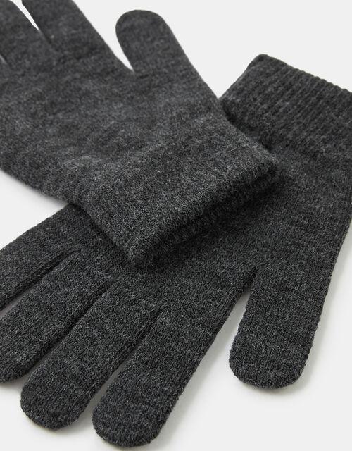 Super-Stretchy Knit Gloves , , large