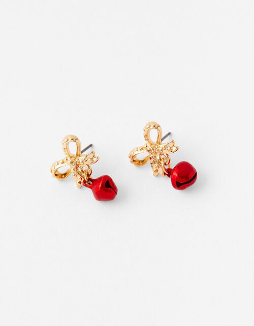 Christmas Bauble Short Drop Earrings, , large