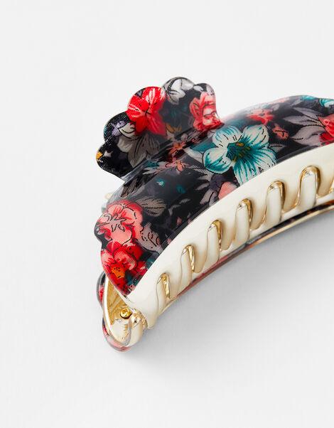 Floral Bulldog Clip, , large