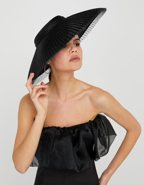 Origami Statement Fascinator Hat, , large