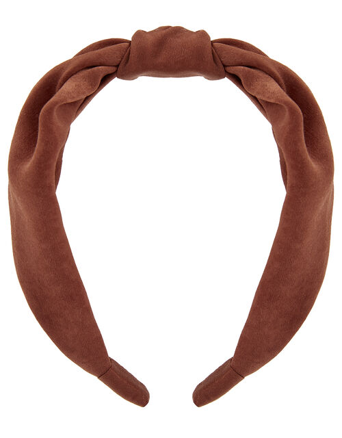 Wide Knot Alice Hair Band, , large