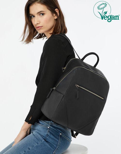 Judy Vegan Backpack, Black (BLACK), large