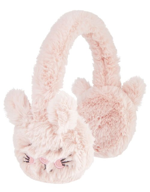 Bella Bunny Fluffy Earmuffs, , large