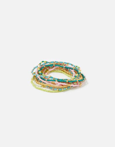 Feel Good Seedbead Stretch Bracelets, , large
