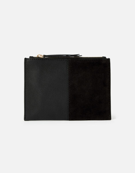 Carmen Leather and Suede Pouch Bag, , large