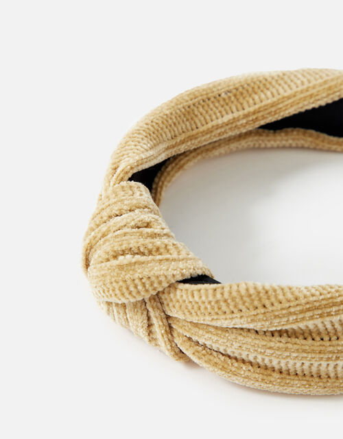Textured Knot Headband , , large