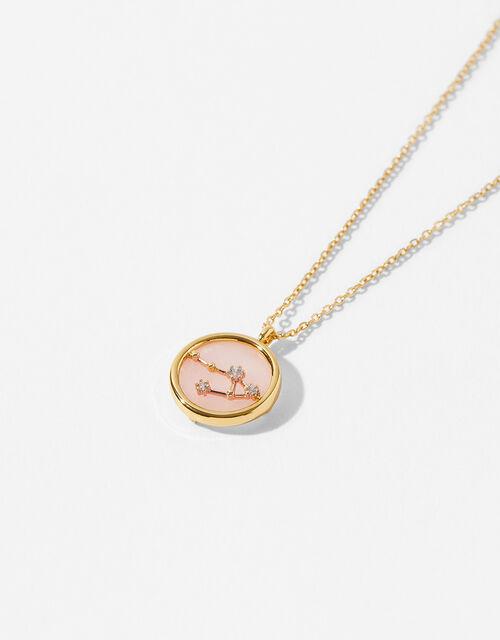 Rose Quartz Constellation Necklace - Libra, , large