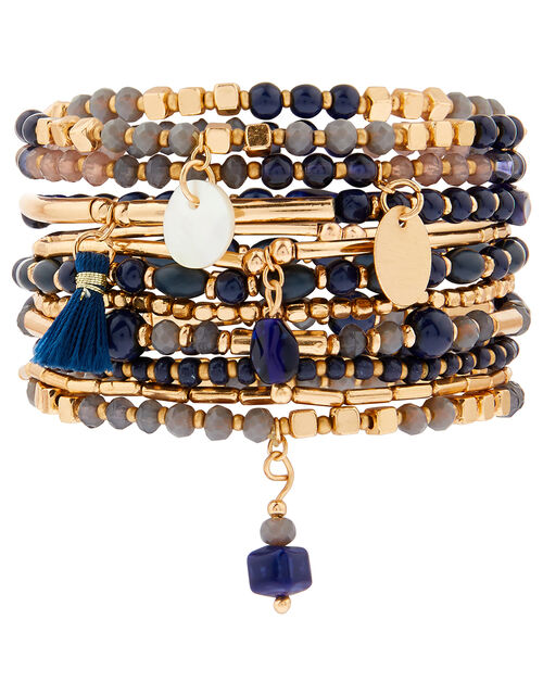 Simplicity Stretch Bead Bracelet Multipack, , large