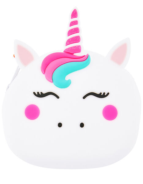 Unicorn Buddy Silicone Coin Purse, , large