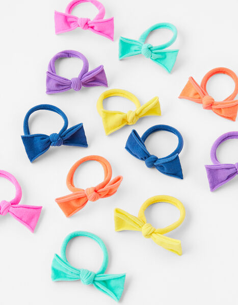 Tie Bow Hair Band Multipack, , large