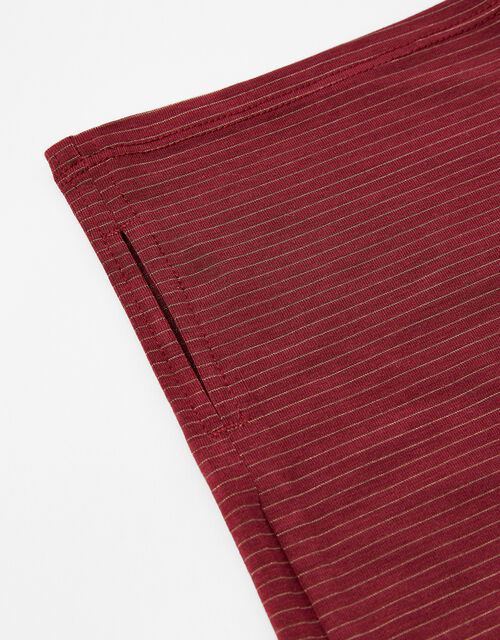 Antibacterial Snood Face Covering, Red (BURGUNDY), large