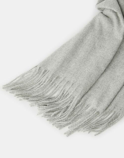 Holly Sparkle Super-Soft Blanket Scarf Mink, , large