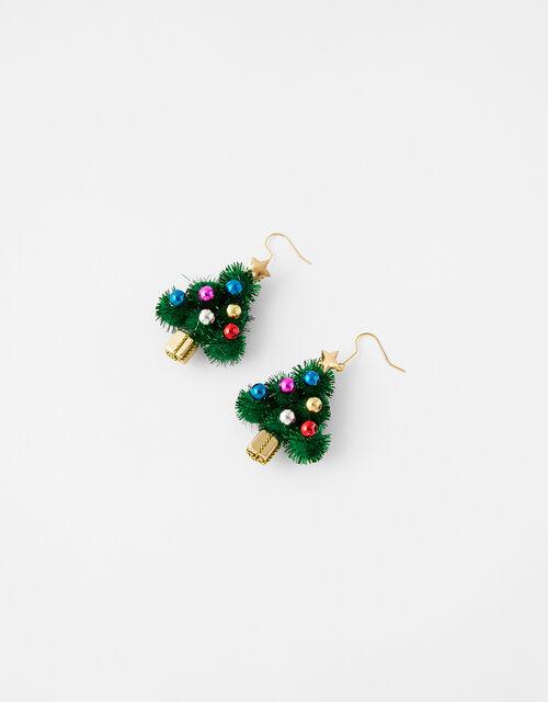 Christmas Tree Earrings, , large