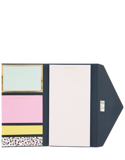 Leopard Rainbow Sticky Notes Set, , large